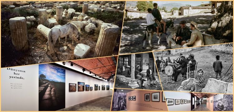 Ara Güler's photos of Aphrodisias Ancient City are on display