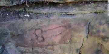 Arkeologlar Hadrian Duvarında bir fallus çizimi daha buldu