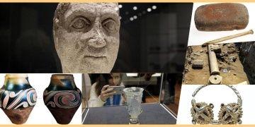 Bulgaristanda 2018deki Arkeoloji kazıları buluntuları sergileniyor
