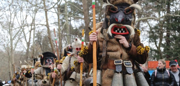 Kukerlandia Maske Festivali Yambol kentinde yapıldı