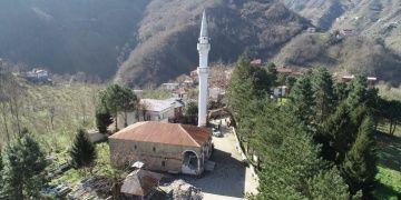 Ordunun Gülyalı ilçesindeki tarihi cami restore ediliyor