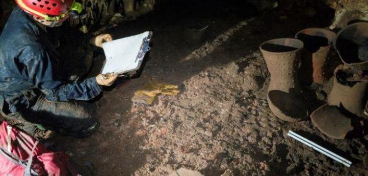 Arkeologlar Mayalara ait kutsal mağara ve adak kalıntıları buldu