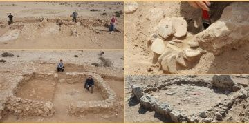 Katardaki arkeoloji kazılarında Sasani ve Emevi dönemi eserleri bulundu