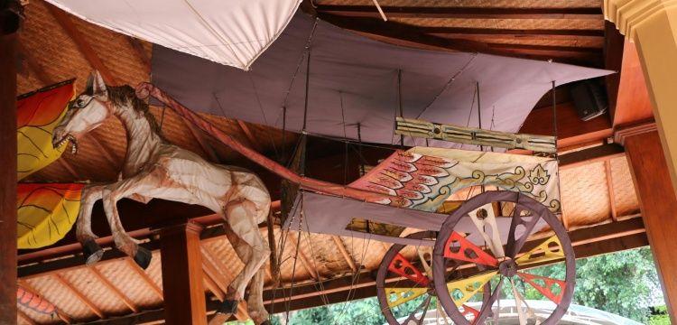 Museum Layang-Layang Endonezyanın uçurtma kültürünü sergiliyor