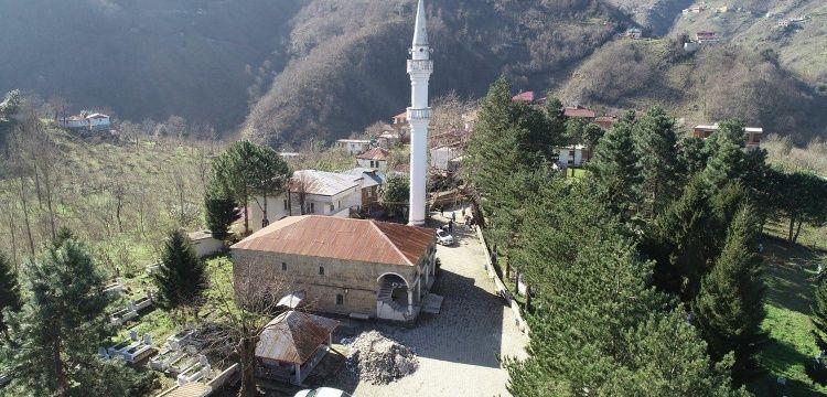 Ordu Gülyalı ilçesindeki tarihi cami restore ediliyor