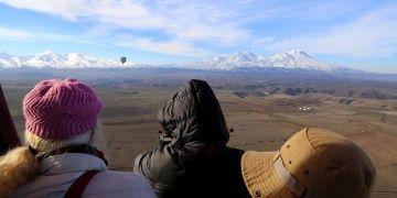Ihlara Vadisi üzerindeki balon turları sürekli hale getiriliyor