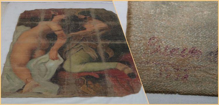 Diyarbakır'da Picasso'nun olduğu iddia edilen tablo yakalandı