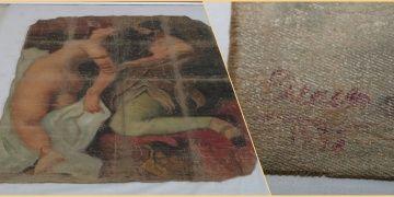 Diyarbakırda Picassonun olduğu iddia edilen tablo yakalandı
