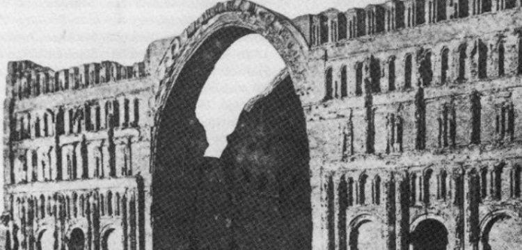 Irak'ta Sasani eseri Eyvani Kasrı'nın bir kemeri çöktü