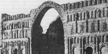 Irakta Sasani eseri Eyvani Kasrının bir kemeri çöktü