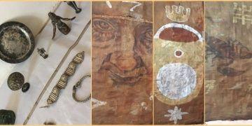 Hatayda tarihi eserler ve Picasso imzalı resimler yakalandı