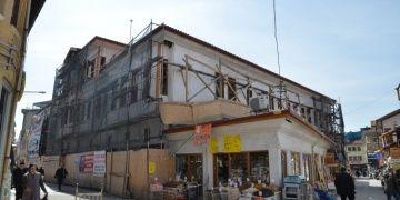 Anadolu Oteli olarak kullanılan 154 yıllık Veli Paşa Hanı restore ediliyor