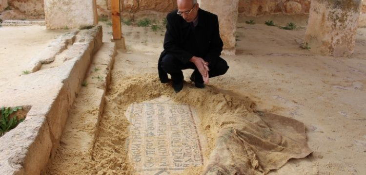 Ürdün'deki St. George Kilisesi Hıristiyanlığın en eski mabedlerinden