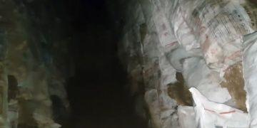 Sivastaki Delikli Tepede yapılan kaçak kazıyı bir YouTuber görüntüledi