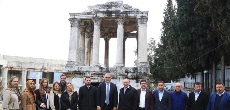 Balan Ersoy Muğla'nın arkeolojik ve turistik alanlarını gezdi