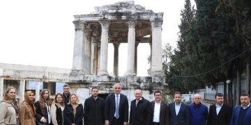 Balan Ersoy Muğlanın arkeolojik ve turistik alanlarını gezdi