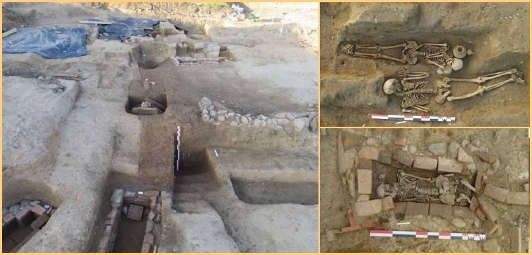 Korsika'da Etrüsk ve Roma mezarları bulunan bir nekropol keşfedildi