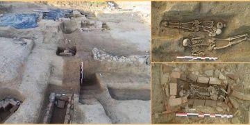 Korsikada Etrüsk ve Roma mezarları bulunan bir nekropol keşfedildi