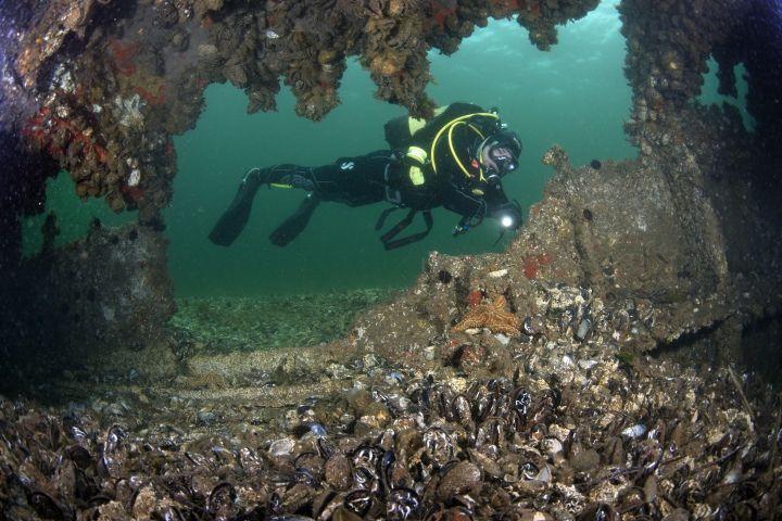 Çanakkale Boğazında turistleri bekleyen batıklar