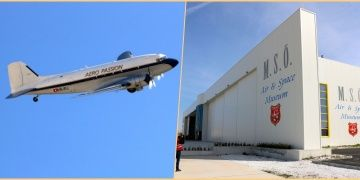 DC-3 uçağı uçarak M.S.Ö. Havacılık Müzesindeki yerini aldı