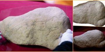 İspanyada bulunan taşlardaki kaya sanatı çizimleri 12 bin yıldan yaşlı iddiası