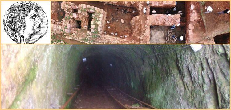 Mithradates Kalelerindeki tünellerin yapılış amacı gizemini koruyor