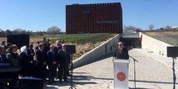Cumhurbaşkanı Erdoğan, Troya Müzesinin resmi açılışını gerçekleştirdi