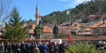 Macaristan milli kahramanı Lajos Kossuth Kütahyada anıldı