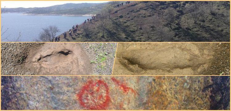 Doğa severler Manisa'daki ayak izi fosillerinin korunmasını istiyor