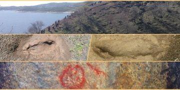 Doğa severler Manisadaki ayak izi fosillerinin korunmasını istiyor