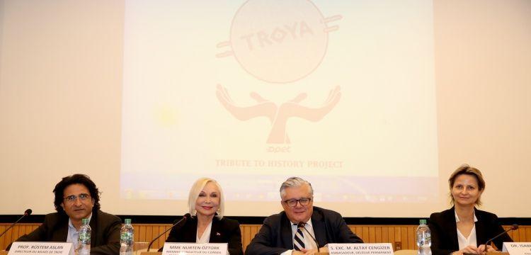 OPET, UNESCO'da Tevfikiye arkeo-köy projesini konferansla anlattı
