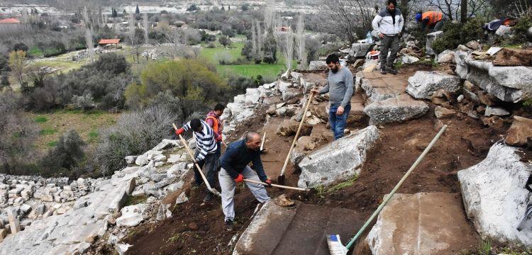 Stratonikeia Antik Kenti'nde 2019 arkeoloji kazıları başladı