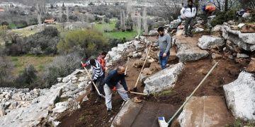 Stratonikeia Antik Kentinde 2019 arkeoloji kazıları başladı