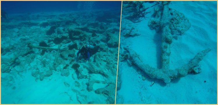 Akdeniz'in Mısır kıyılarında Helenistik dönem çapaları keşfedildi