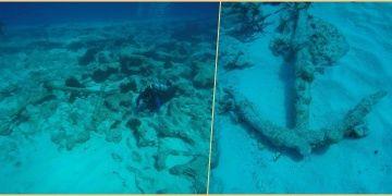 Akdenizin Mısır kıyılarında Helenistik dönem çapaları keşfedildi
