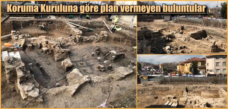 Eyüp merkezinde bulunan arkelojik kalıntıları Koruma Kurulu korumadı