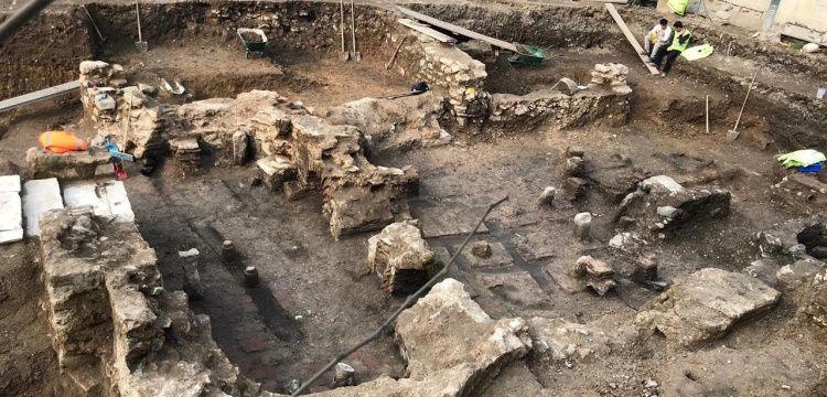 Arkeologlar Derneği: Eyüp'teki kalıntıların plan verdiği açıkça görülmekte