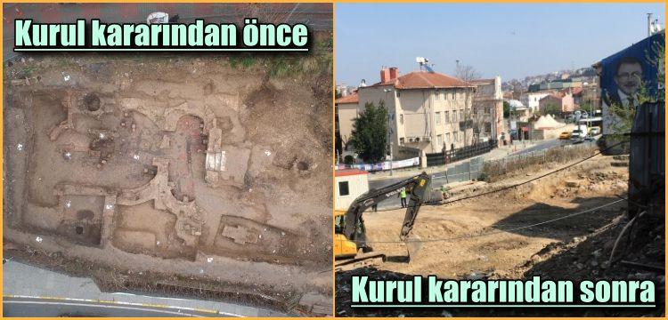 Kurul böyle buyurdu: Eyüp'teki arkeolojik kalıntılar kazındı!
