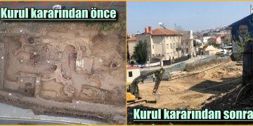Kurul böyle buyurdu: Eyüpteki arkeolojik kalıntılar kazındı!