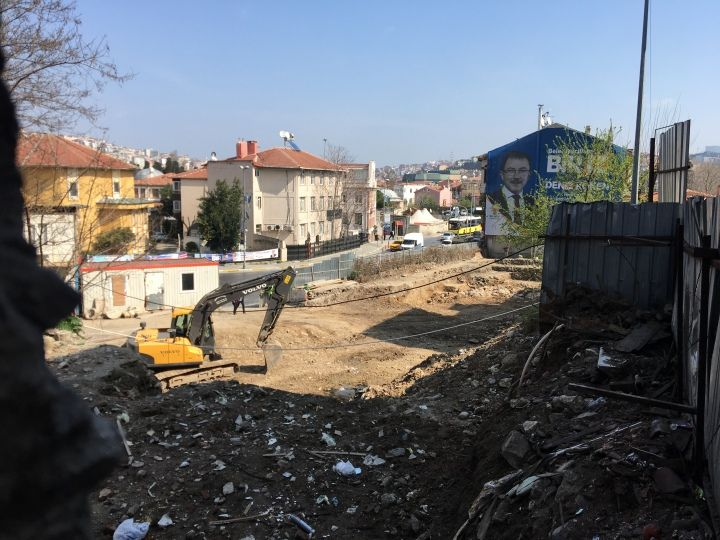 Eyüp'ten Koruma Kurulu kararı öncesi ve sonrası arkeolojik manzaralar