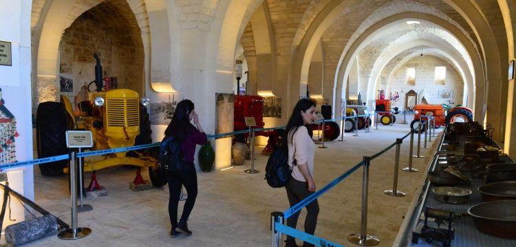 Şanlıurfa Çarmelik Kervansarayı Tarım Müzesi olarak hizmete girdi