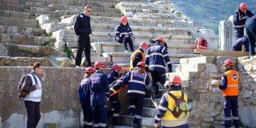 Boğaziçi Üniversitesi, Efes Antik Kentinde deprem tatbikatı yaptı