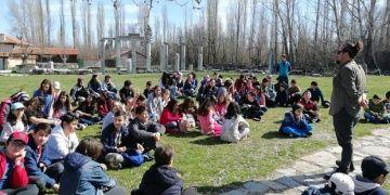 Aizanoi antik kentinde arkeoloji, doğa bilimleri ve felsefe dersi alıyorlar