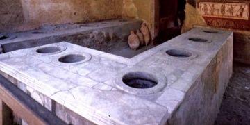 Pompeiide 2 bin yıllık fast food dükkanı ortaya çıktı