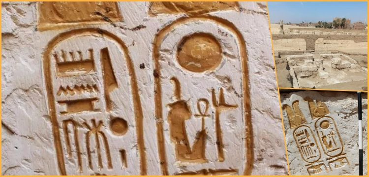 Abidos'taki İkinci Ramses Tapınağı'nın temel taşı keşfedildi