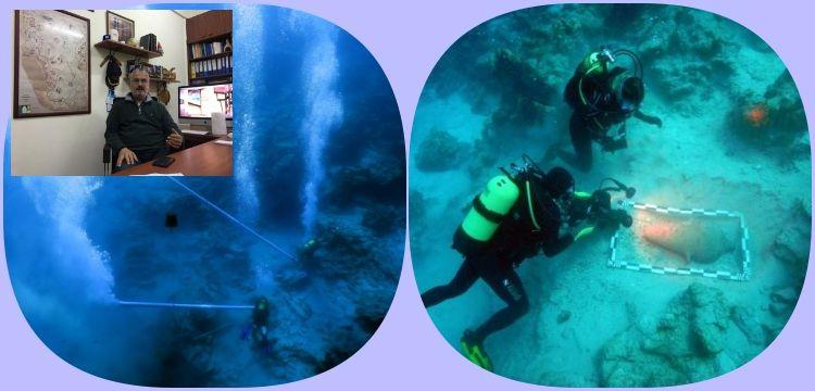 Doç. Dr. Harun Özdaş su altı arkeolojisinin zorluklarını anlattı