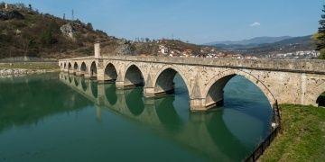 Drina Köprüsünün restorasyonu tamamlandı
