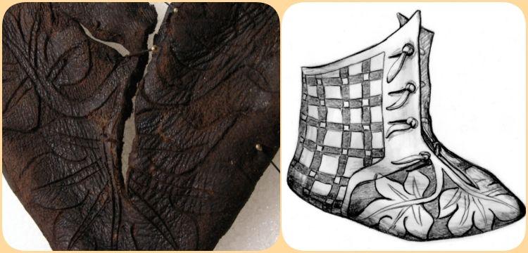 Arkeologlar İsviçre'de yaklaşık 700 yıllık bebek ayakkabısı buldular