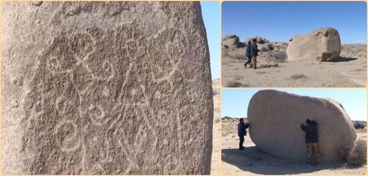 İç Moğolistan'da dört bin yıllık petroglifler keşfedildi