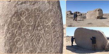 İç Moğolistanda dört bin yıllık petroglifler keşfedildi